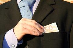 In der Tasche Lizenzfreies Stockfoto