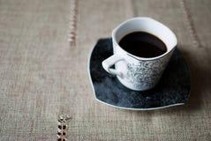 Der Tasse Kaffee Lizenzfreie Stockfotos