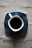 Der Tasse Kaffee Stockfoto