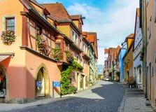 Der Tauber Alemanha do ob de Rothenburg fotografia de stock