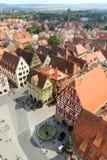 Der Tauber Alemanha do ob de Rothenburg Foto de Stock Royalty Free
