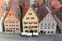 Der Tauber Alemanha do ob de Rothenburg Foto de Stock