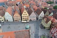 Der Tauber Alemanha do ob de Rothenburg Imagens de Stock