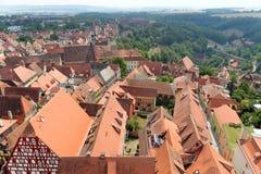 Der Tauber Alemania del ob de Rothenburg Foto de archivo libre de regalías