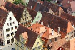 Der Tauber Alemania del ob de Rothenburg Fotos de archivo