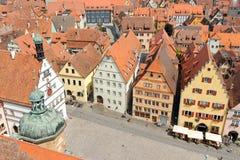 Der Tauber Alemania del ob de Rothenburg Imagen de archivo libre de regalías
