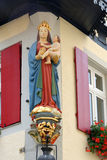 Der Tauber Alemania del ob de Rothenburg Fotografía de archivo libre de regalías