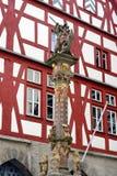 Der Tauber Alemania del ob de Rothenburg Fotografía de archivo