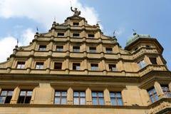 Der Tauber, Alemania del ob de Rothenburg Imagen de archivo libre de regalías