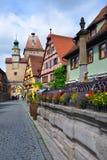 Der Tauber, Allemagne d'ob de Rothenburg Photo stock