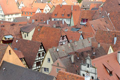 Der Tauber, Allemagne d'ob de Rothenburg Images stock