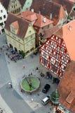 Der Tauber Allemagne d'ob de Rothenburg Photo libre de droits