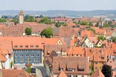 Der Tauber Allemagne d'ob de Rothenburg Photo stock