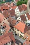 Der Tauber, Bavière, Allemagne d'ob de Rothenburg Image stock