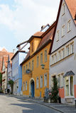 Der Tauber, Bavière, Allemagne d'ob de Rothenburg Photographie stock libre de droits