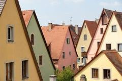 Der Tauber, Bavière, Allemagne d'ob de Rothenburg Images stock