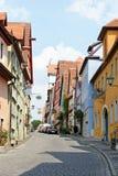 Der Tauber, Baviera, Alemania del ob de Rothenburg Foto de archivo libre de regalías
