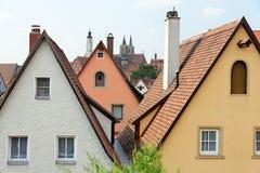 Der Tauber, Baviera, Alemania del ob de Rothenburg Fotografía de archivo