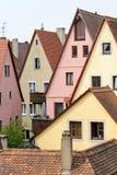 Der Tauber, Baviera, Alemania del ob de Rothenburg Imágenes de archivo libres de regalías