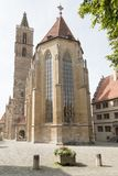 Der Tauber d'ob de Rothenburg Photographie stock