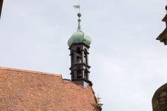 Der Tauber d'ob de Rothenburg Images stock