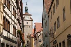 Der Tauber d'ob de Rothenburg Photo stock