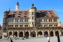 Der Tauber del ob de Rothenburg Fotografía de archivo libre de regalías