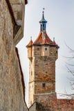 Der Tauber del ob de Rothenburg Fotos de archivo libres de regalías