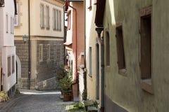 Der Tauber do ob de Rothenburg Fotos de Stock