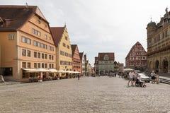 Der Tauber do ob de Rothenburg Imagens de Stock