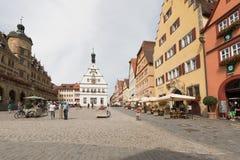 Der Tauber do ob de Rothenburg Imagem de Stock