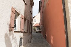Der Tauber do ob de Rothenburg Fotografia de Stock