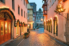 Der Tauber do ob de Rothenburg Imagem de Stock