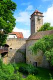Der Tauber do ob de Rothenburg, Alemanha Fotos de Stock Royalty Free