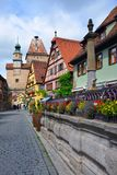 Der Tauber, Germania del ob di Rothenburg Fotografia Stock