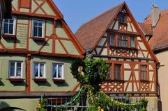 Der Tauber, Germania del ob di Rothenburg Fotografie Stock
