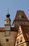 Der Tauber, Germania del ob di Rothenburg Fotografia Stock Libera da Diritti