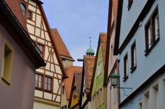 Der Tauber, Germania del ob di Rothenburg Immagine Stock