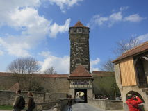Der Tauber ob Ротенбург Стоковое Фото