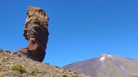 Der Teide-Vulkan in Teneriffa - Timelapse stock video