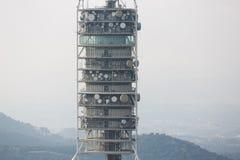 Der Telekommunikationsturm, Barcelona Lizenzfreies Stockbild