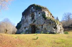 Der Tempel anstatt Musser in Abchasien Stockfotografie