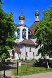 Der Tempel der Heiligprinzessin Olga gleich den Aposteln Lizenzfreies Stockbild