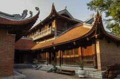 Der Tempel der Literatur in Hanoi lizenzfreie stockfotos