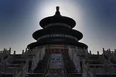 Der Tempel des Himmels ist in SüdBeijin Stockfotografie
