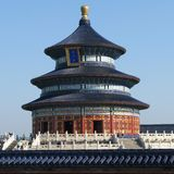 Der Tempel des Himmels in Peking Stockbild