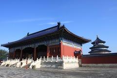 Der Tempel des Himmels in Peking Stockfotografie