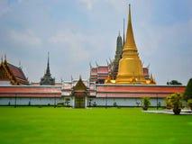 Der Tempel Emerald Buddha Wat Phra Kaews stockfoto