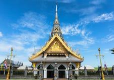 Der Tempel ist der buddhistische Glaube lizenzfreies stockfoto