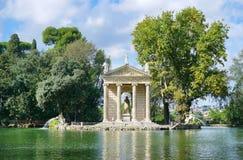 Der Tempel von Aesculapius Lizenzfreie Stockfotos